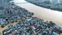 China flooding