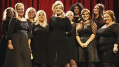 Adele and impersonators