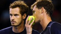 Murray brothers beat Australia in doubles