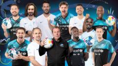 Celebrities and former footballers to take part in Soccer Aid