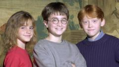 Hermione Grainger, Harry Potter and Ron Weasley