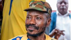 Colonel Eddy Kapend, a senior officer and aide to assassinated president Laurent Kabila,