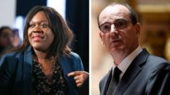 Politician Laetitia Avia came up with the idea of a new law and Prime Minister Jean Castex has been mocked for his south-western accent