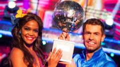 Strictly Come Dancing Winners 2019 Oti Mabuse and Kelvin Fletcher
