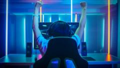 A-YOUNG-PERSON-GAMING-AND-CHEERING.