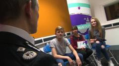 Top policewoman Olivia Pinkney answers kids questions on bullying