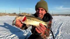Texas man catches fish