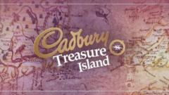 Cadbury Treasure Island map