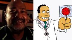 Kevin Richardson and Dr Julius Hibbert