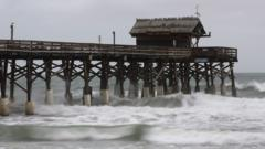 Hurricane Matthew bears down on Florida