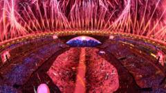 The 2016 Olympic games opening ceremony
