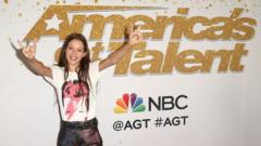 Courtney Hadwin attends 'America's Got Talent' Season 13 Finale Live Show Red Carpet at the Dolby Theatre on September 19, 2018 in Hollywood,
