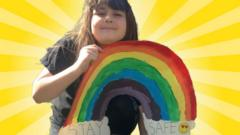 girl-with-painted-rainbow-for-coronavirus.
