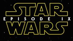 Early version of logo for the latest star wars film