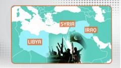 Islamic State or I.S operates out of Syria, Iraq and Libya