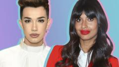 James Charles and Jameela Jamil