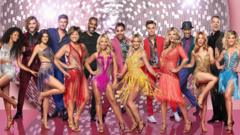 The 15 Strictly Come Dancing 2018 contestants.