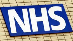 NHS logo emblem sign