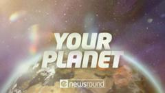 Your Planet logo and the planet earth