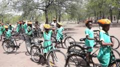 Bikes change the lives of girls in Africa