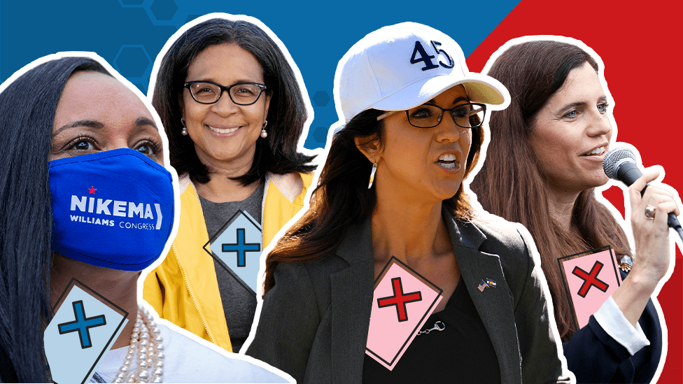 Women elected to Congress in 2020