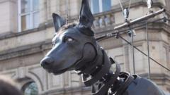 puppet dog