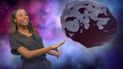 Whitney and an asteroid
