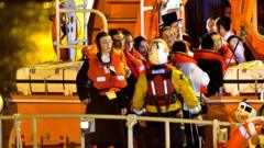 Pupils after rescue