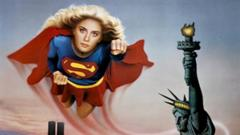 Supergirl from the 1984 movie