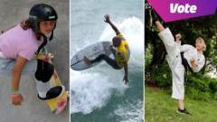 Skateboarding, surfing and karate