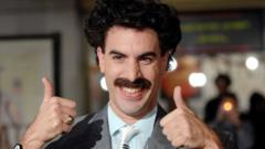 Sacha Baron Cohen in character as Borat
