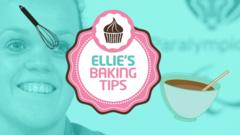 Ellie's baking tips graphic