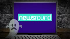 Ghostly Newsround logo