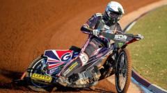 Speedway champion Tai Woffinden