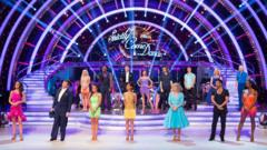 The Strictly couples