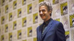 Peter Capaldi at San Diego Comic Con