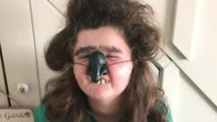 Six-year-old Gracie from Pembrokeshire is Mrs Twit
