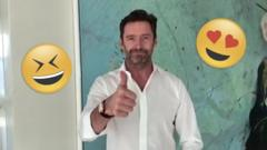 Greatest Showman's actor Hugh Jackman's message to primary school