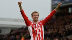 Peter Crouch.