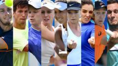 Other British players at Wimbledon