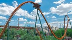 Yukon Striker rollercoaster at Canada's Wonderland