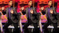 Alfonso Ribeiro dancing.