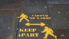 Keep Apart sign in Wales