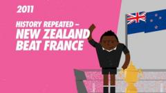 New Zealand beat France in 2011
