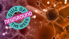 Cells and the Quiz of the week logo.