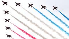 Red arrows RAF display team