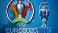 The Euro 2020 trophy