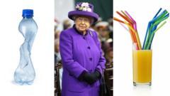 queen and plastic