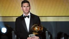 Lionel Messi has won the FIFA Ballon d'Or award