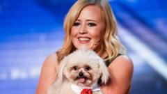 Lucy and Trip Hazard, who will perform in this year's final of Britain's Got Talent